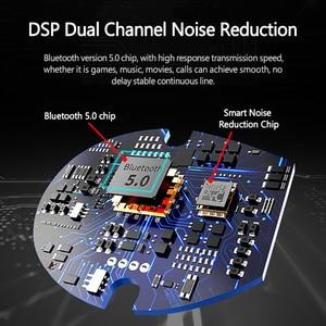 Image 2 - Lenovo HT28 TWS gerçek kablosuz kulaklık Bluetooth 5.0 derin bas kulaklık HD stereo kulaklıklar gürültü iptal uzun saplı kulaklık