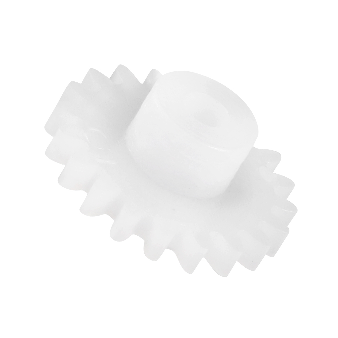 Uxcell 30Pcs 202A Plastic Gear Toy Accessories With 20 Teeth For DIY Car Robot Motor