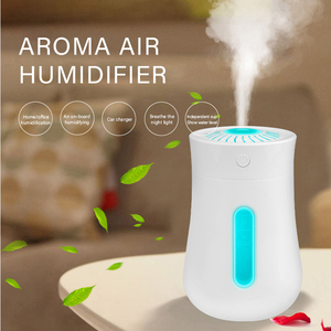 ELOOLE Mini Air Humidifier Aromatherapy Essential Oil Diffuser Air Purifier With Colorful Lamp Insecticidal And Bactericidal(China)