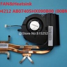 Вентилятор для ноутбука и радиатор для lenovo B5400 M5400 3QBM5TMLV30 90204212 AB07405HX090B00(00BM5) BATA0710R5H-PN01