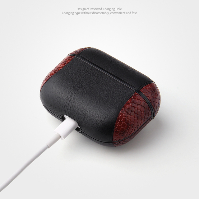 Multi-Colored Leather Case for AirPods Pro 4