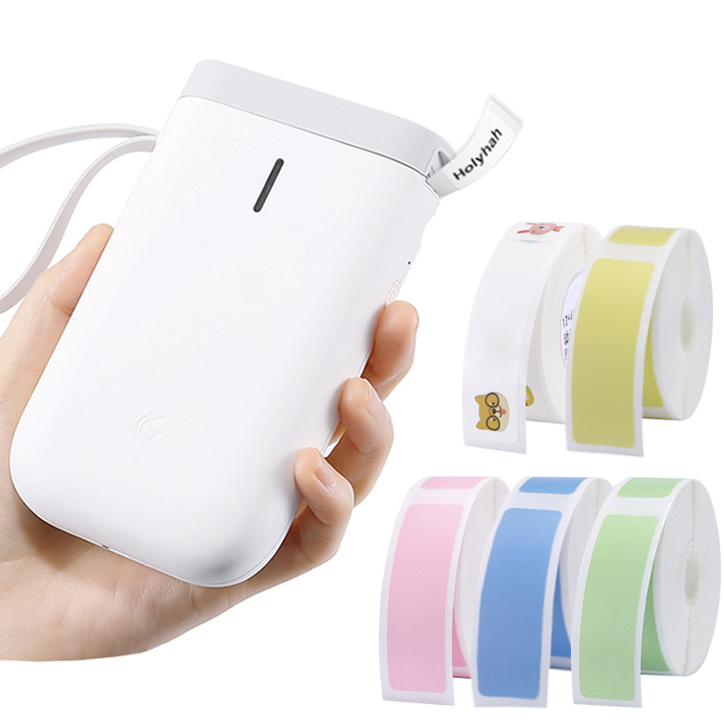 Niimbot D11 אלחוטי תווית מדפסת נייד כיס תווית מדפסת Bluetooth תרמית תווית מדפסת מהיר הדפסת בית שימוש משרד P