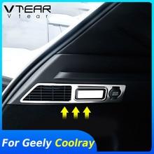 Vlarme pour Geely Coolray SX11 intérieur style arrière lampes de lecture couverture décoration voiture arrière coffre lumières garniture accessoires pièces