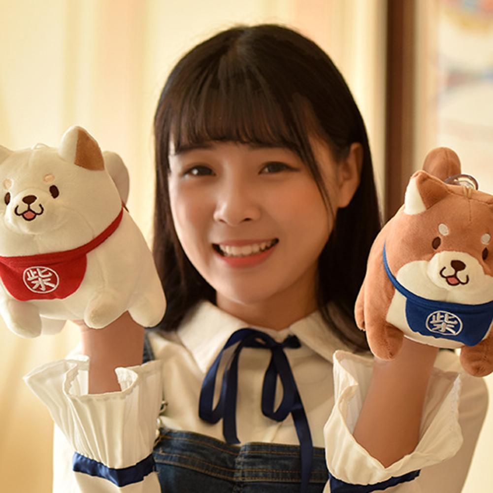 Cute Shiba Inu Corgi Dog Animal Stuffed Plush Toys Dolls Cushion Kids Sleeping Back Cushion Cute Stuffed