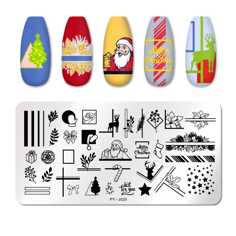 PICT YOU 12*6cm Nail Art Templates Stamping Plate Design Flower Animal Glass Temperature Lace Stamp Templates Plates Image 61