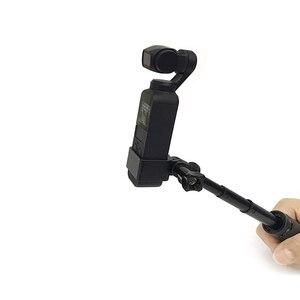 Image 3 - Mini desktop stativ Selfie stick halter aluminium legierung Stange montieren dji kamera Für DJI osmo Tasche/osmo Tasche 2 kamera