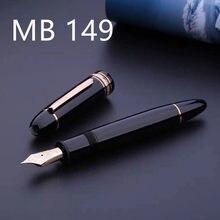 High-end mb marca caneta tinteiro, taipan 149 marca de luxo caneta tinteiro mbpen caixa de presente livre
