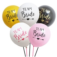 12inch Hen Party Theme Balloons Team Bride Balloons Hen Party Accessories Shower Wedding Party Decorations Bachelorette Supplies цена и фото