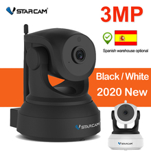 Vstarcam 3MP IP كاميرا 1080P داخلي كاميرا مراقبة للمنزل واي فاي P2P عرض عن بعد للتدوير للرؤية الليلية مراقبة الطفل 2304*1296P