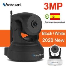 Vstarcam 3MP IP kamera 1080P kapalı ev güvenlik kamerası Wifi P2P uzaktan görünümü dönebilen gece görüş bebek izleme monitörü 2304*1296P