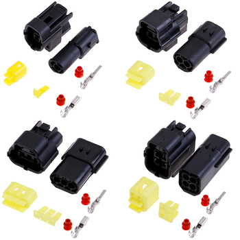 2.3mm 3//4//6//8//9//16P Electric Waterproof Connector Wiring Harness For Motor Car