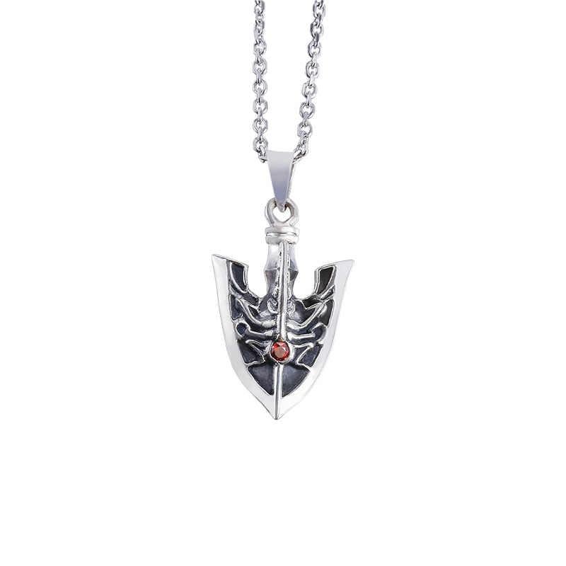 Anime Jojo S Bizarre Adventure Giogio Stand Arrow Necklace S925 Sterling Silver Pendant Fashion Jewelry Cosplay Xmas Gift Aliexpress 1919 stand arrow jojo 3d models. anime jojo s bizarre adventure giogio