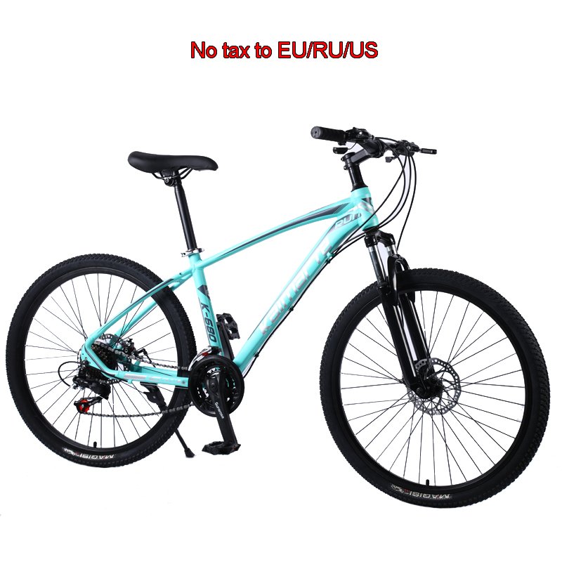 24 And 26 Inch Mountain Bicycle Aluminum Mountain Bike Student Bicycle Variable Speed ​​Bike Double Disc Brake Mountain Bike