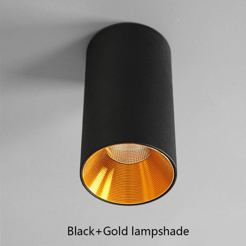 Black-Gold lampshade