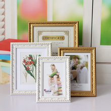 Picture  Family  Wall  Birthday  Photo Frame Vintage  Graduation  Wedding  【Key Word:Photo Frame】 Frame  Anniversary  Photo giftgarden 5x7 silver alloy classic crown photo frames vintage picture frame table decoration anniversary gift wedding decor