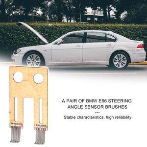 Image 2 - 2PCS Steering Column Switch Angle Sensor Contact Brush Repair Kit Fit For BMW E65 E66 E60 730 740 530 7 Series Automobiles New