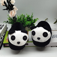 special panda cute fur slippers timber land shoes men women winter slippers Custom slippers Home House Slippers Children indoor
