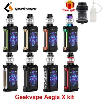 الأصلي Geekvape ايجيس X vape عدة للماء الإلكترونية السجائر وزارة الدفاع صالح 5.5/4 مللي cerbrus خزان/ايرو شبكة البخاخة IP67 vape عدة