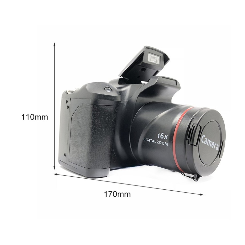 H9a9671ffba6645c6be3f4ba30e49917eh XJ05 Digital Camera SLR 4X Digital Zoom 2.8 inch Screen 3mp CMOS Max 12MP Resolution HD 720P TV OUT Support PC Video