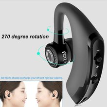 V9 Bluetooth 4.1 Headset Wireless Sports Headphone Smart Handsfree Earphone Universal Bluetooth Sports Bass Earbuds with Mic