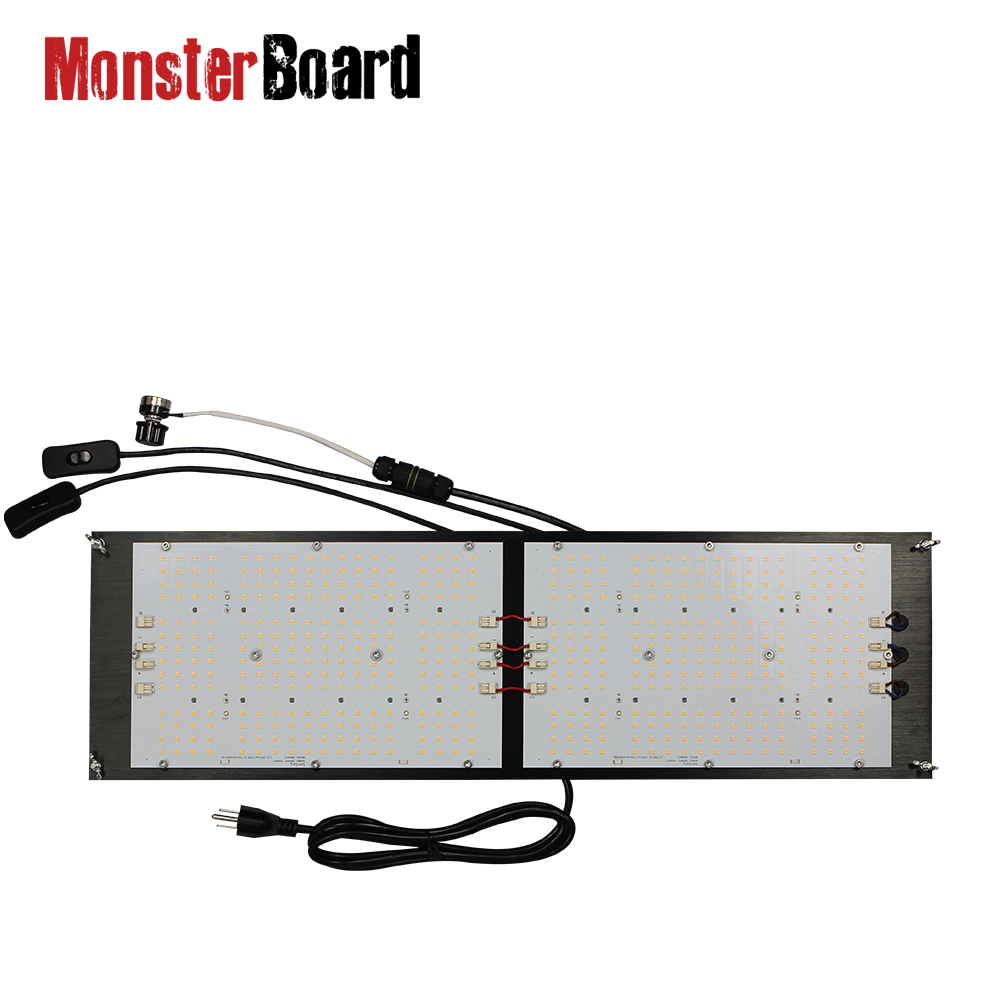Geeklight 240w Quantum led samsumg lm301h wachsen zelt komplette <font><b>kit</b></font> monster board mit uv ir image