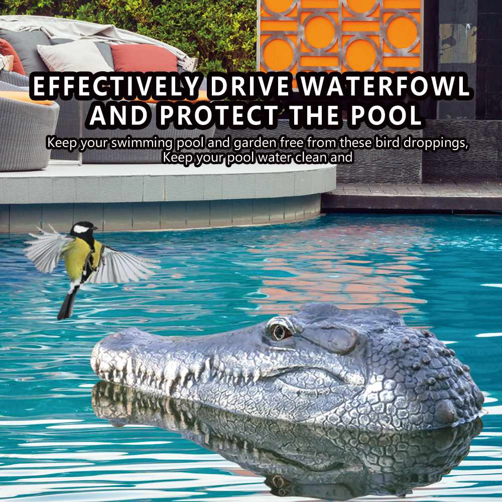 Flytec V005 RTR Toy 4CH 2.4G Electric RC Boat Interesting Simulation Crocodile Head Vehicle Teenager Model Toy Ship For Children