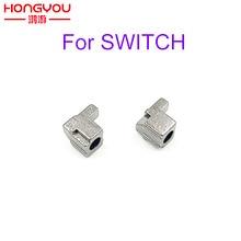 5 คู่โลหะซ้ายขวา Slider BUCKLE LOCK LATCH Bracket สำหรับ Nintendo SWITCH Joy CON หลวม Repair เครื่องมืออะไหล่ NS คอนโทรลเลอร์ JoyCon