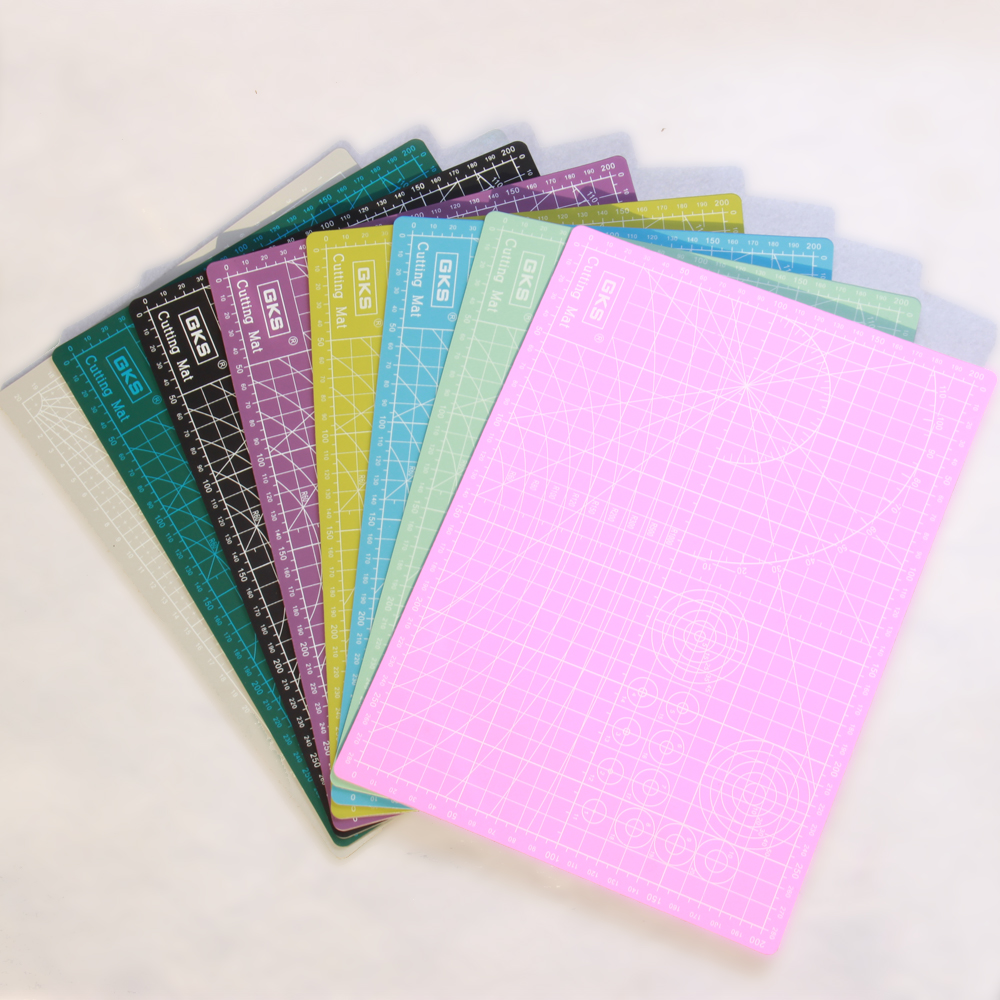 New A3 A4 Pvc Rectangle Cutting Mats Grid Lines Self Healing Cutting Board Tool Fabric Leather Paper Craft DIY Tools Plate Pad
