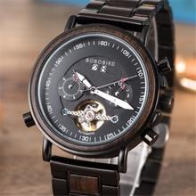 BOBO BIRD Wood Women Watch Automatic Mechanical Wristwatch Top Brand Luxury Fashion Business Timepiece Lady's Gift часы женские