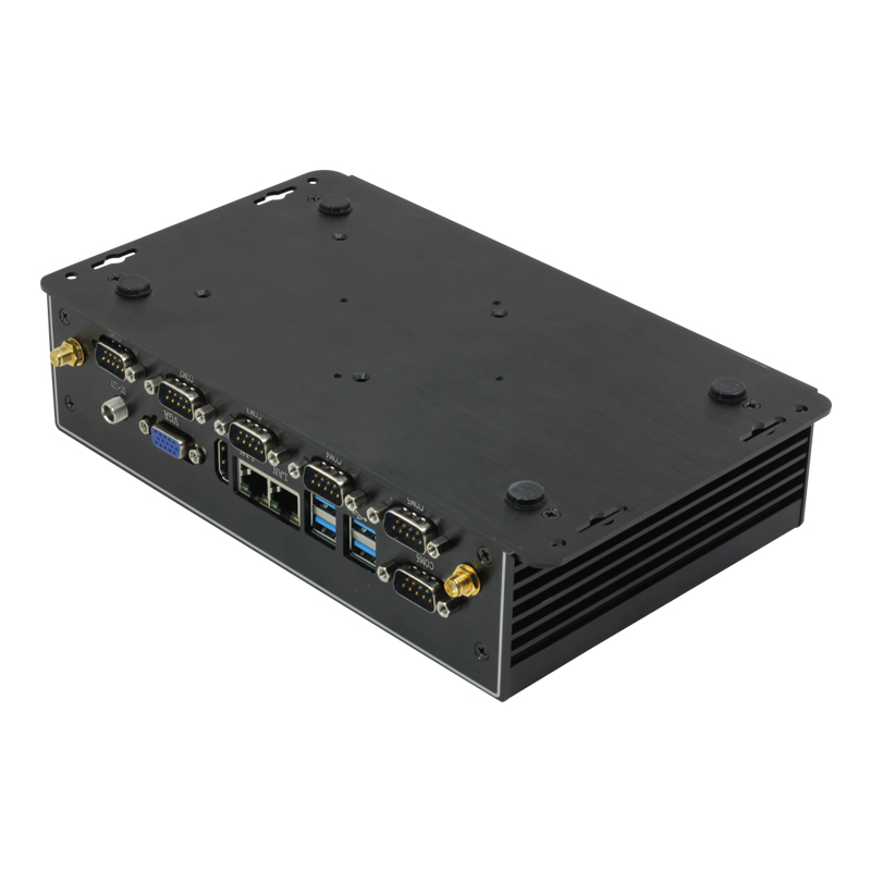 Image 5 - Fanless Industrial Mini PC Intel Core i7 4500U i5 4200U Windows Linux Dual Gigabit Ethernet 6*RS232/485 8*USB 3G/4G LTE-in Mini PC from Computer & Office