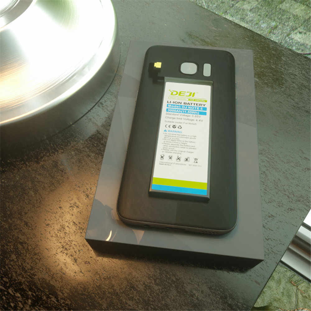 Deji Voor Samsung S7 Rand S6 S5 J7 Batterij Real Capaciteit 3600 Mah Interne Bateria Vervanging Met Gratis Tool Kit g9350 Sticker