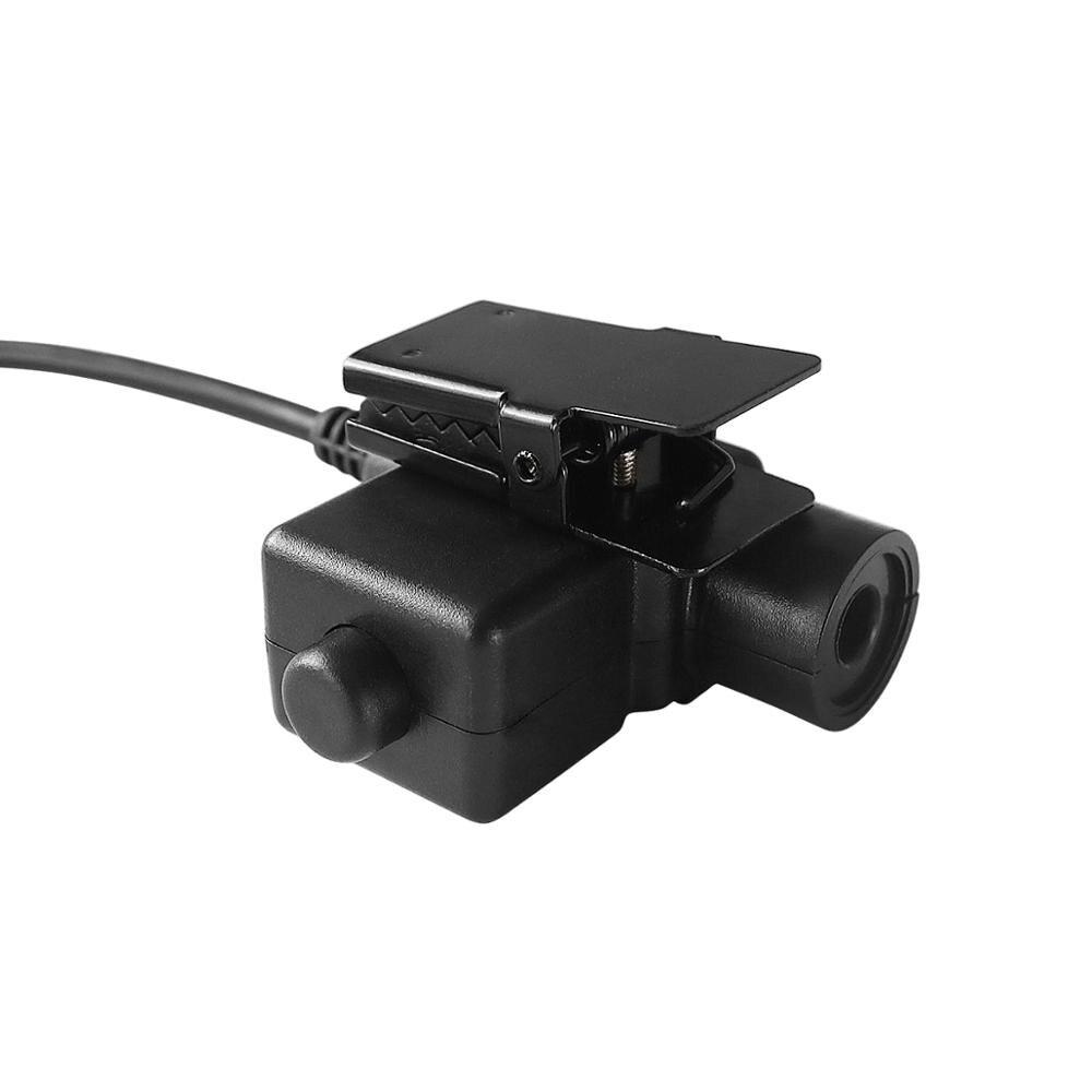 Yaesu Vertex U94 ptt tactical headset adapter plug for Yaesu Vertex VX-6R VX-7R VX6R VX7R FT-270 VX-127 VX-170 walkie talkie