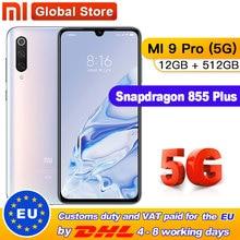 Xiao mi mi 9 pro (5G) 12GB 512GB Smartphone Snapdragon 855plus 5G 48MP Triple Kameras 4000mAh Batterie AMOLED 6,39 ''mi 9 pro 5G