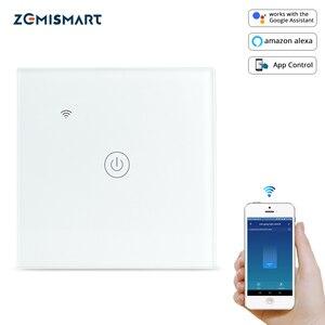 Image 1 - Zemismart تويا واي فاي مفتاح الإضاءة محايد اختياري واحد اثنين ثلاثة عصابة أليكسا جوجل الرئيسية مساعد التحكم في الحياة الذكية