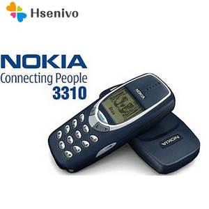 Nokia 3310 Cheap Phone 2G GSM Refurbished Keyboard Arabic Unlocked Original Russian GSM-SUPPORT