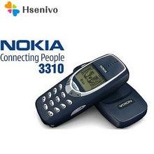 Nokia 3310 reconditionné-téléphone portable d'origine débloqué, bon marché, 2G GSM, prise en charge du clavier russe et arabe