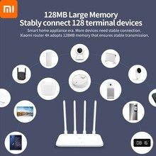 Xiaomi Mi yönlendirici 4A Gigabit sürümü WiFi 1167Mbps 2.4GHz 5GHz WiFi tekrarlayıcı 128MB DDR3 yüksek kazanç 4 antenler ağ genişletici