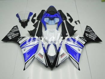 New ABS Injection Motorcycle Full Fairing kit fit for YAMAHA YZF R1 2013 2014 13 14 Body set black blue