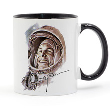 Russia Ussr First World Soviet Cosmonaut Gagarin Coffee Mug Ceramic Cup Gifts 11oz