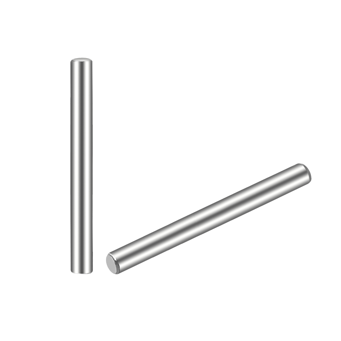 uxcell 25Pcs 2.5mm x 25mm Dowel Pin 304 Stainless Steel Cylindrical Shelf Support Pin|Dowel| |  - title=