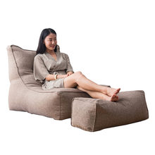 All Seasons Solid Lazy Sofa Cover Pouf Bedroom Home Living Room Bean Bag Protective Soft Pedal Slipcover Lounger Seat Washable