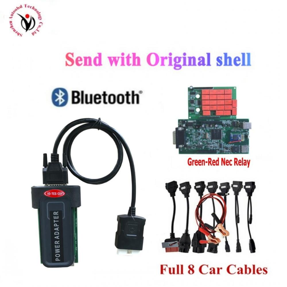 2020 NEW Vci Scanner With Bluetooth USB Vd Ds150e Cdp Pro 2016.R0 NEW Keygen For Delphis Obd Obd2 Cars & Trucks Diagnostic Tool
