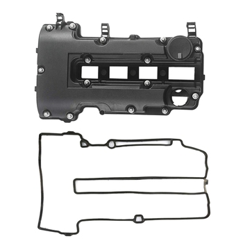 Camshaft Engine Valve Cover for GM Chevy Cruze Sonic Trax, PCV Cover Buick for Chevrolet Fits 1.4L 25198874 55573746