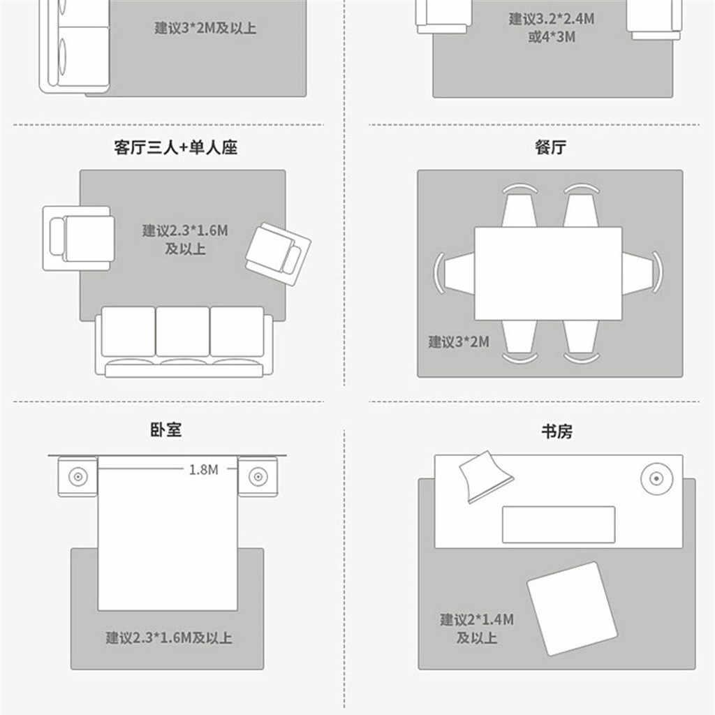 40 ^ สีทึบพรมพรมนุ่มพรมโมเดิร์นพรมพรมเด็กพรมพรม Room Plush พรมพรมขนาดเล็ก home Decor