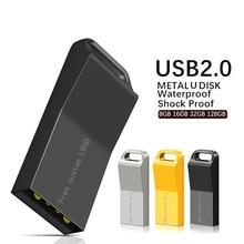 Key Usb Flash Drive 128gb Pendrive 64gb Metal Usb Stick 32gb Portable 16gb Pen Drive 8gb Flash Memory Stick 4gb Free custom LOGO цена и фото