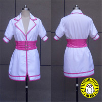 Super Sonico The Animation SUPERSONICO Cosplay Costume Sexy White Nurse Dress Halloween/Party Role Play Clothing Custom Make Any