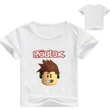 3-16y jogo de tiro t camisa dos desenhos animados das crianças roupas dos miúdos verão roupas casuais meninos tshirt mangas curtas bebê meninas camisetas