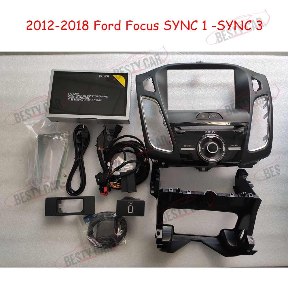 """Plug/&Play 4/"""" TO 8/"""" PNP Conversion Power Harness for Ford SYNC1 to SYNC 3 Upgrade"""