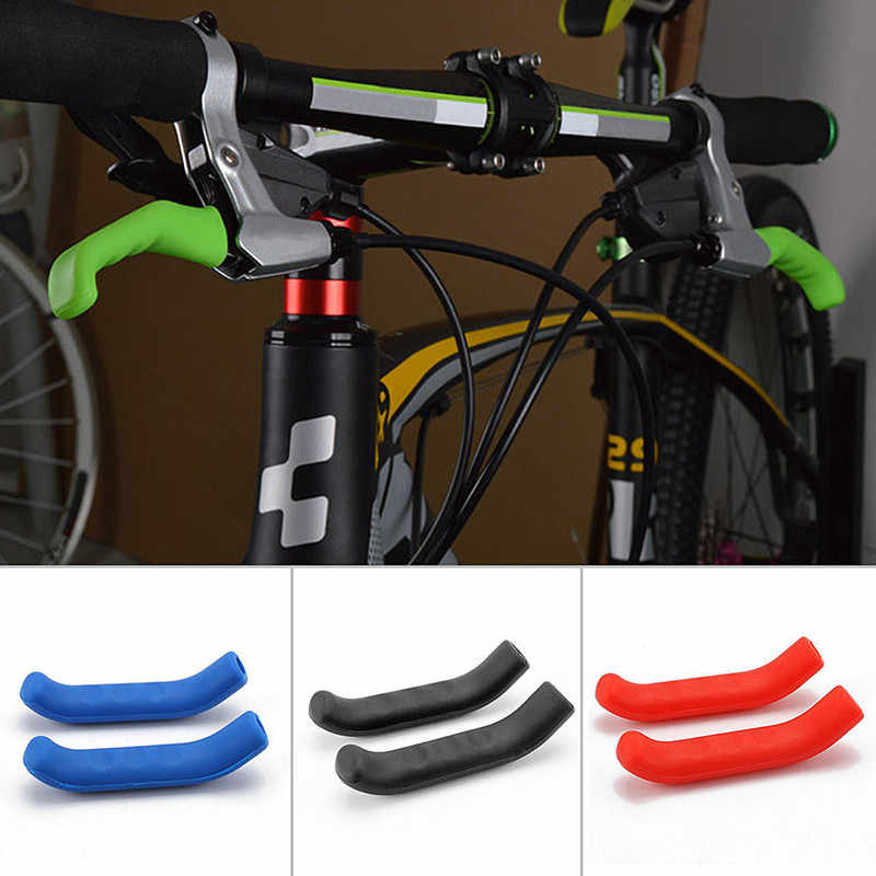 Hot 1 Pair xiaomi m365 Scooter Brake Handle Cover Silicone Sleeve Universal Type Brake Lever Protection Covers Cycling Accessory