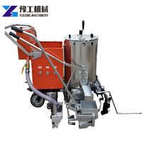380 thermofusible marquage Machine Parking Station-service marquage routier ciment asphalte chaussée ligne claire et Durable